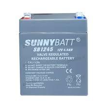 باطری 12ولت 4.5 آمپر sunny batt