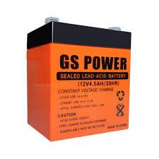 باتری ۱۲ ولت 4.5 آمپر GS